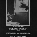 Roland Oesker Fotoausstellung