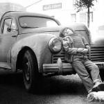 Roland Oesker Junge mit Auto
