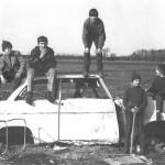 Roland Oesker Kinder und Autowrack