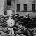 Roland Oesker Spiel auf Reifen